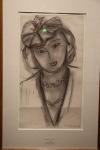Femme au chapeau 1949