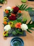 Composition florale terminée