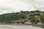 La Citadelle vue du confluent Sambre/Meuse
