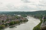 Namur et la Meuse, vue de la Citadelle