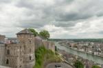 Ville de Namur vue de la Citadelle