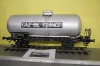 maquette d'une citerne gaz retaurée par l'AAAB