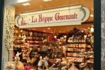 Boutique gourmande dans la galerie de la Reine