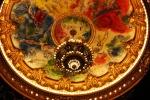 Plafond et Lustre salle de spectacle_Peinture de CHAGAL