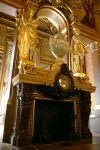 Cheminée avec Horloge Grand Foyer