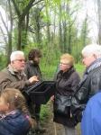 Inspection et commentaires des cueillettes par Gérard