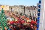 Le marché vue d'en haut (Arras)