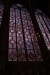 Sainte Chapelle, vitraux Chapelle haute