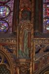 Sainte Chapelle, Statue Chapelle haute