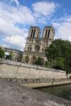 Notre Dame, vue des berges