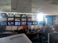 La salle du PC de commande et surveillance