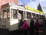 Embarquement dans le tram