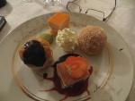 Le repas, la période du dessert